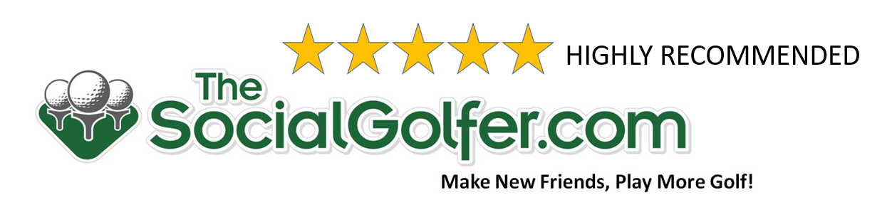 The Social Golfer - Highly Recommended - 5 Stars